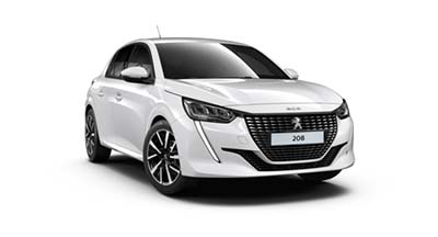 Peugeot 208 - Available In Bianca White