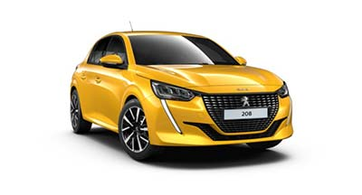 Peugeot 208 - Available In Faro Yellow