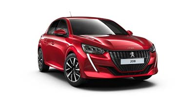 Peugeot 208 - Available In Elixir Red