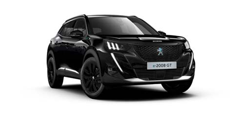 Peugeot E 2008 - Available In Onyx Black