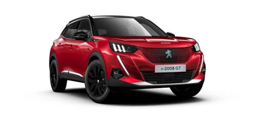 Peugeot E 2008 - Available In Elixir Red