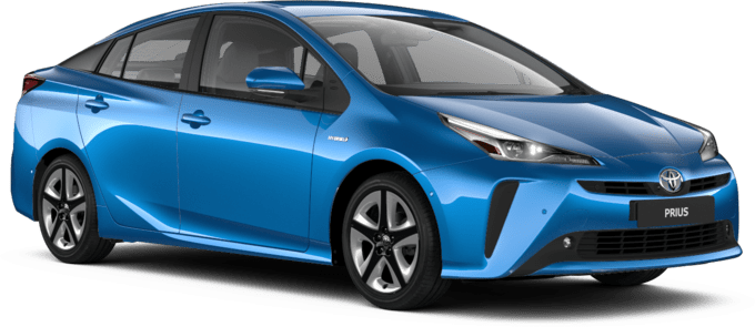 Toyota Prius - Available in Blue Crush