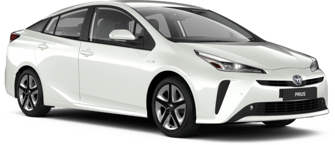 Toyota Prius - Available in Platinum White