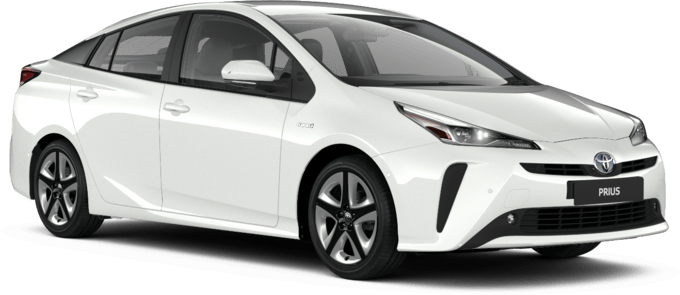 Toyota Prius - Available in Pure White