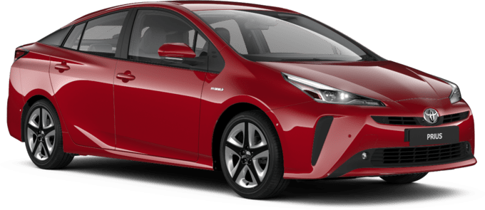Toyota Prius - Available in Scarlet Flare