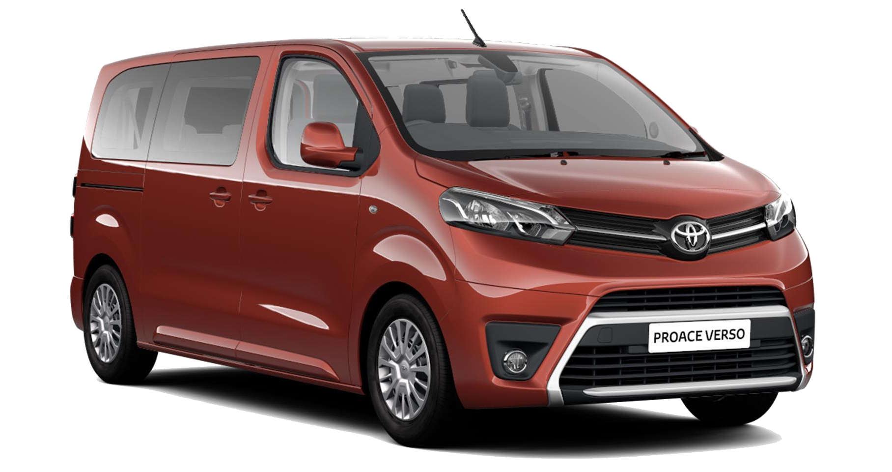 Toyota Proace Verso - Available in Ember Orange