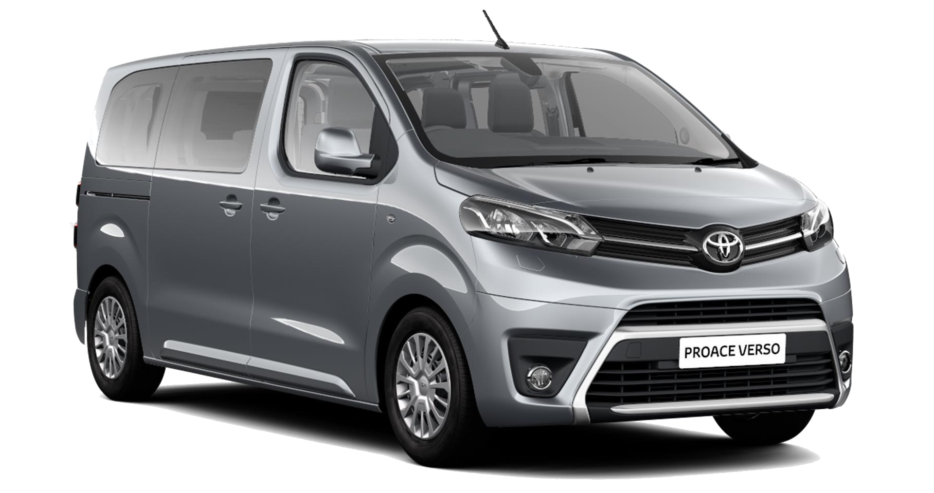 Toyota Proace Verso - Available in Silver Shadow