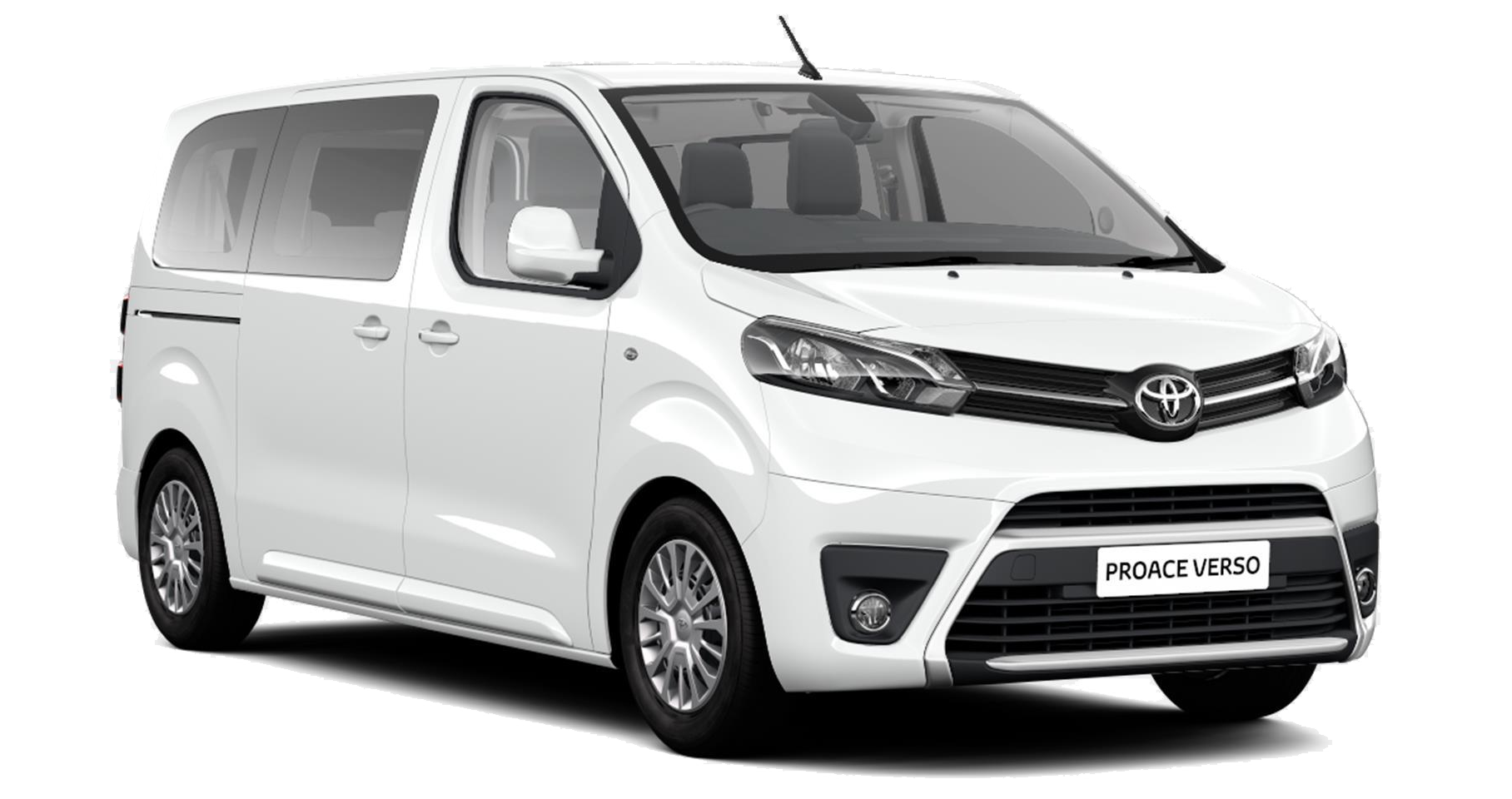 Toyota Proace Verso - Available in Vivid White
